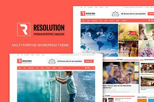 Resolution - MP WordPress Theme
