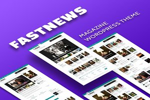 Fast News - Magazine WordPress Theme