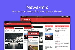 News-mix Magazine Wordpress Theme