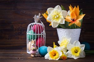 Easter composition