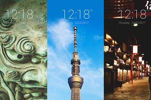 Tokyo 2020: Phone Wallpaper Set 1