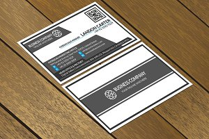 CT021 Corporate business card
