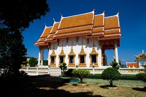 buddhism temple of the most beautiful in Thailand.