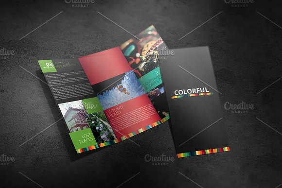 Download Tri Fold Brochure Mockup 01