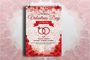 Valentine's Day Event Flyer -V726