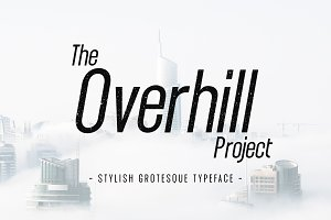 The Overhill Project - Display Font