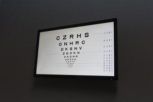 Eye test