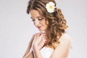 Young bride.