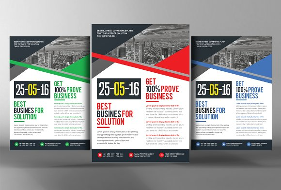 Business Essentials Corporate Flyers