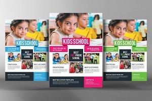 Child Development School Flyer