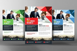 Corporate Agency Flyer Ads