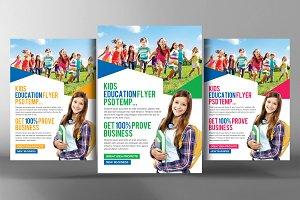 Education Foundation & School Flyer