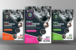 Fitness & Gym Sports Business Flyer
