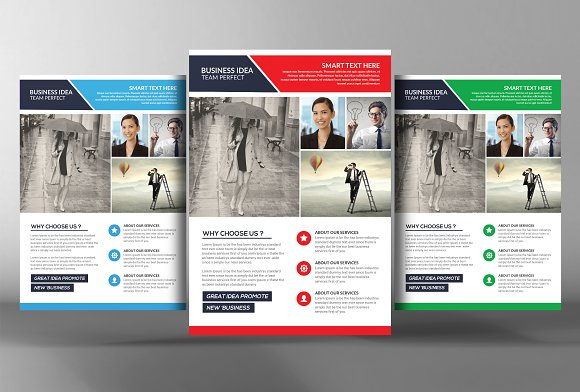 Global Network Services Flyers