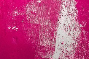 Pink painted grunge texture