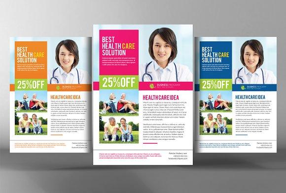 Healthcare Management Flyer Template