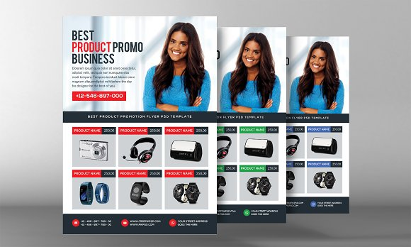 Product Promo Business Flyer in Flyer Templates - product preview 1