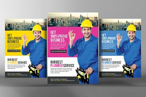 Renovation Flyer Template