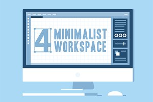 Minimalist Workspace