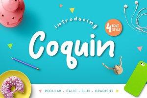 Coquin Typeface