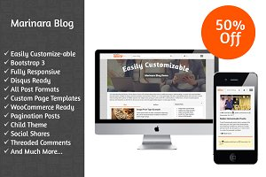 Marinara Blog WordPress Theme