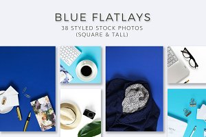 Blue Flatlay Bundle