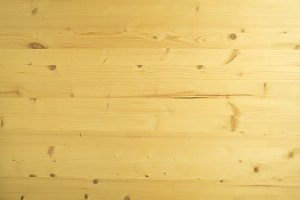 Natural light pine wood table