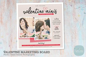 IV021 Valentine Marketing Board