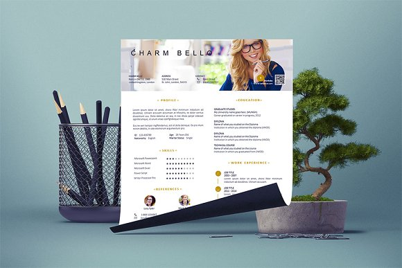 Smart Resume Template
