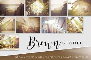 Stock Image Bundle | Natural Brown
