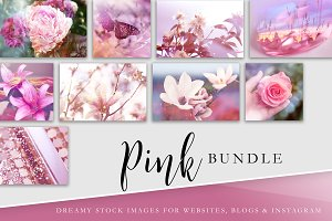 Stock Image Bundle | Pink