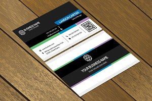 CT026 Corporate business card