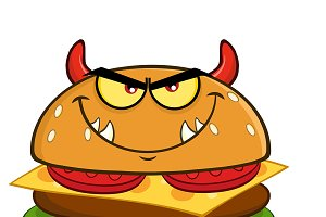 Angry Devil Burger