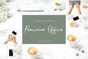 Feminine Office | Blogger Bundle