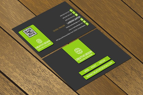 CT027 Corporate business card