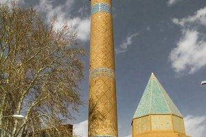 Sheikh Abdussamad Esfahani mosque and tomb, Natanz, Iran