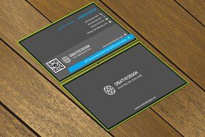 CT029 Corporate business card