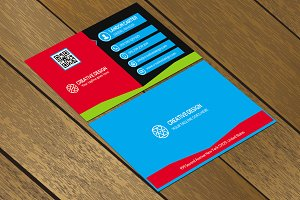 CT030 Corporate business card