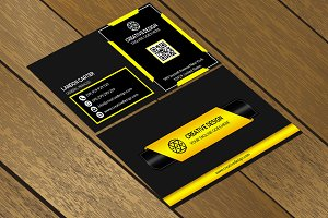 CT033 Corporate business card