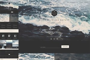 Nature - One Page HTML Template