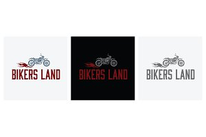 "Logo ""Bikers Land"""