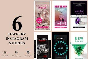 6 Jewelry Instagram Stories