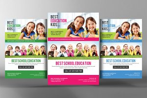 School Education Flyer