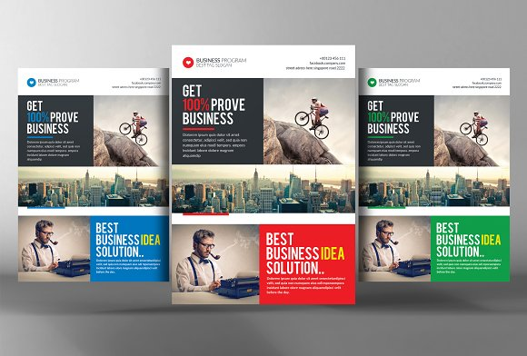 Small business consulting flyer flyer templates creative market small business consulting flyer flashek Gallery