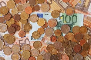Euro notes and coins, European Union