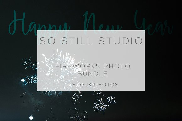 Fireworks photo bundle