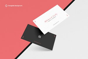Business Card Mockups Vol.3