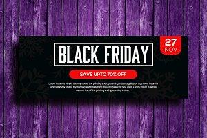 Black Friday Facebook Timeline