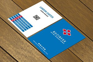 CT038 Corporate business card