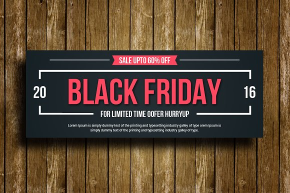Black Friday Facebook Timeline Cove